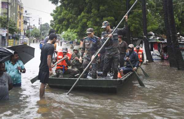 Flood in assam, flood in bihar