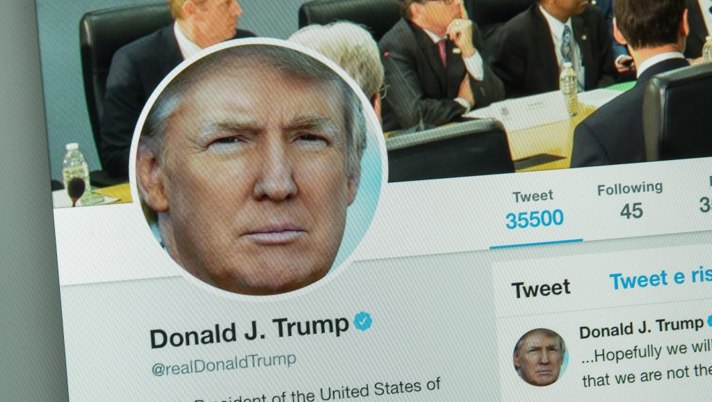 Donald trump twitter account banned temporarily