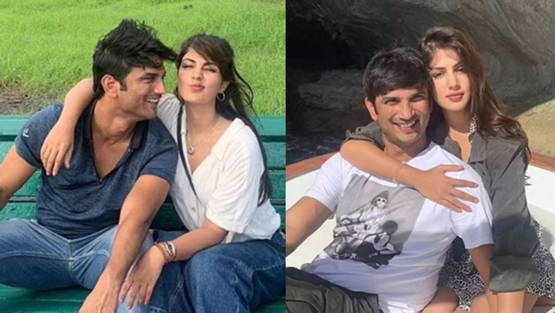 Rhea Chakraborty and Sushant Singh Rajput
