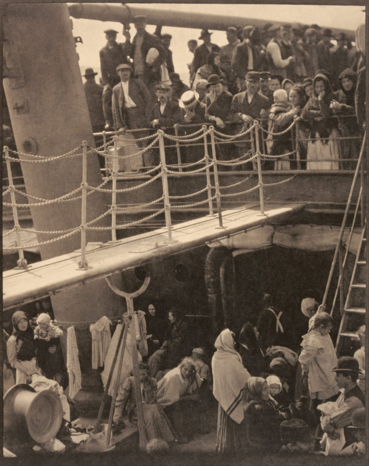 The famous photo The Steerage by Alfred Stieglitz | 1907