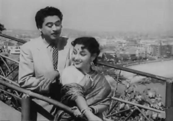 mala sinha and kishore kumar