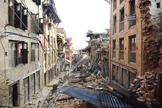 Mumbai earthquake