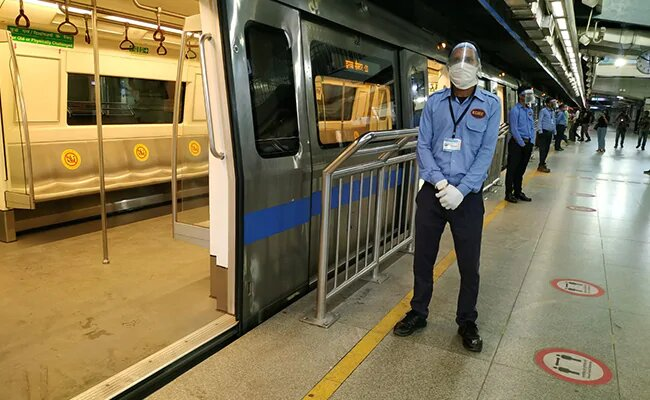 Delhi metro resumes today