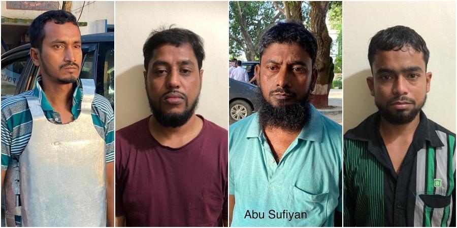 NIA arrest Al-quaeda terrorists