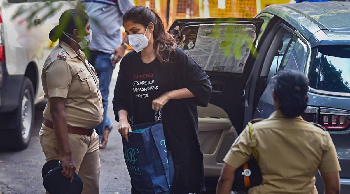 rhea chakrobarty arrested