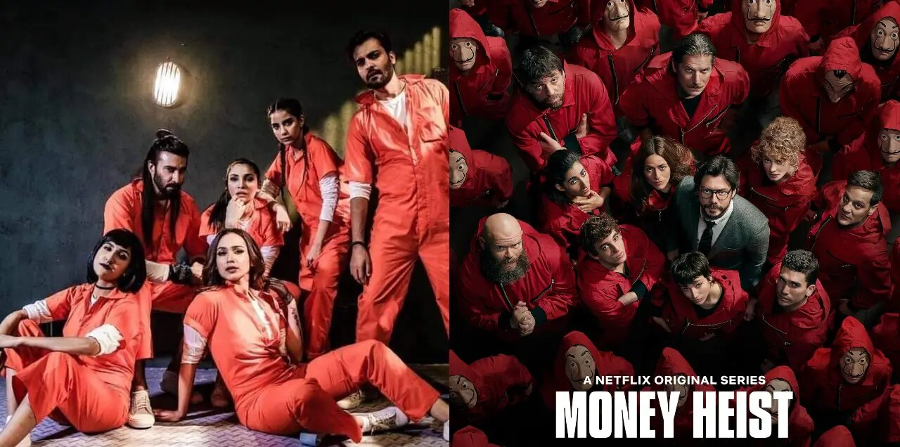 Pakistani money heist duplicate show
