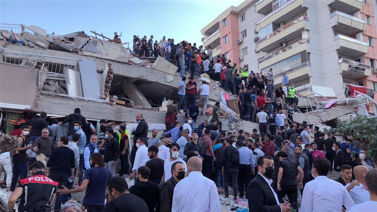 earthquake in turkey and greece