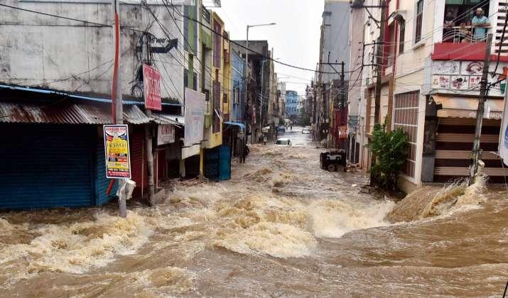 Hyderabad rain news