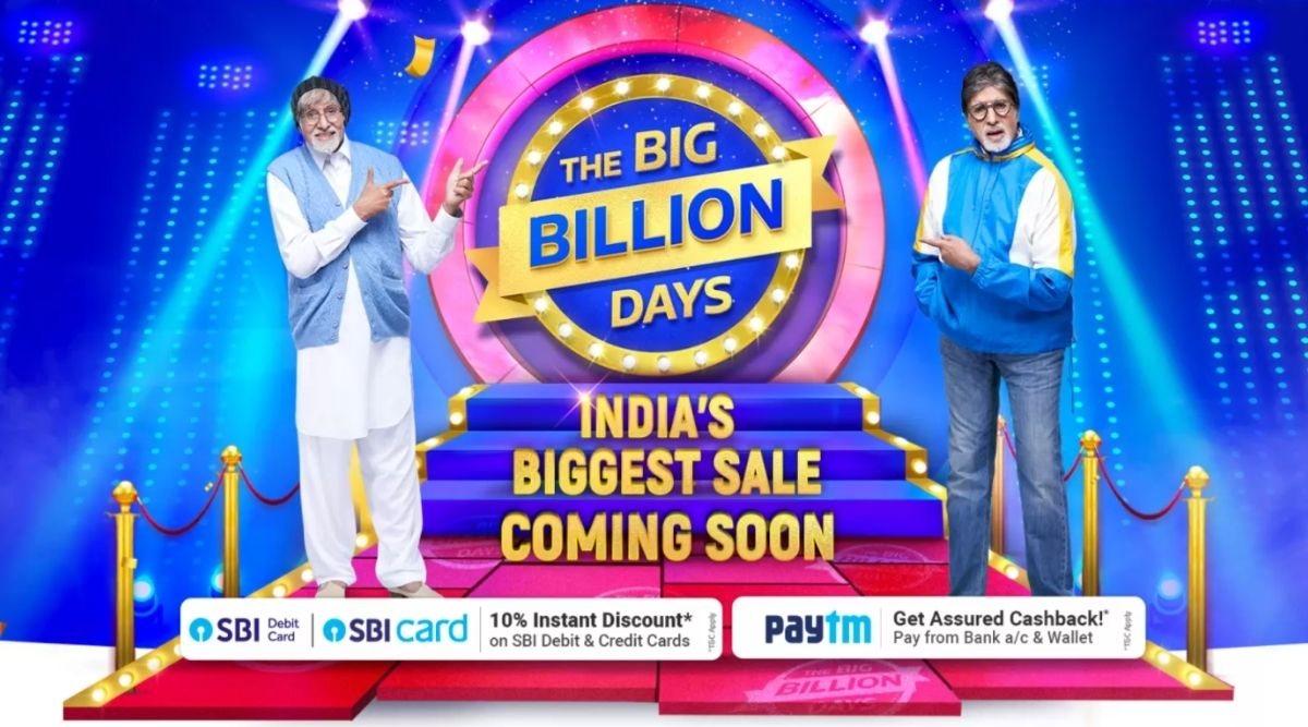 Flipkart big billion sale