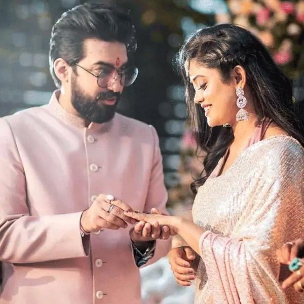 Sachet and Parampara Thakur engagement