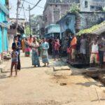 jharkhand women throws children from terrace