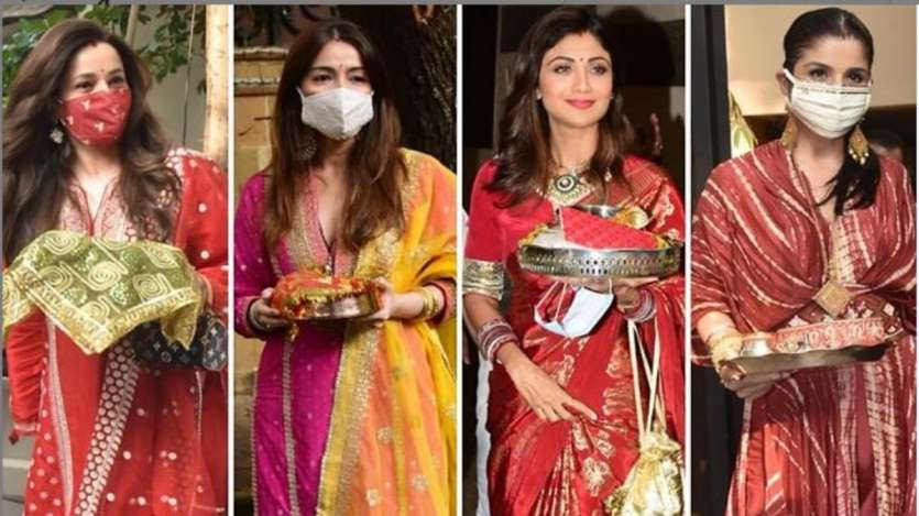 Karwa Chauth 2020 celebs photos