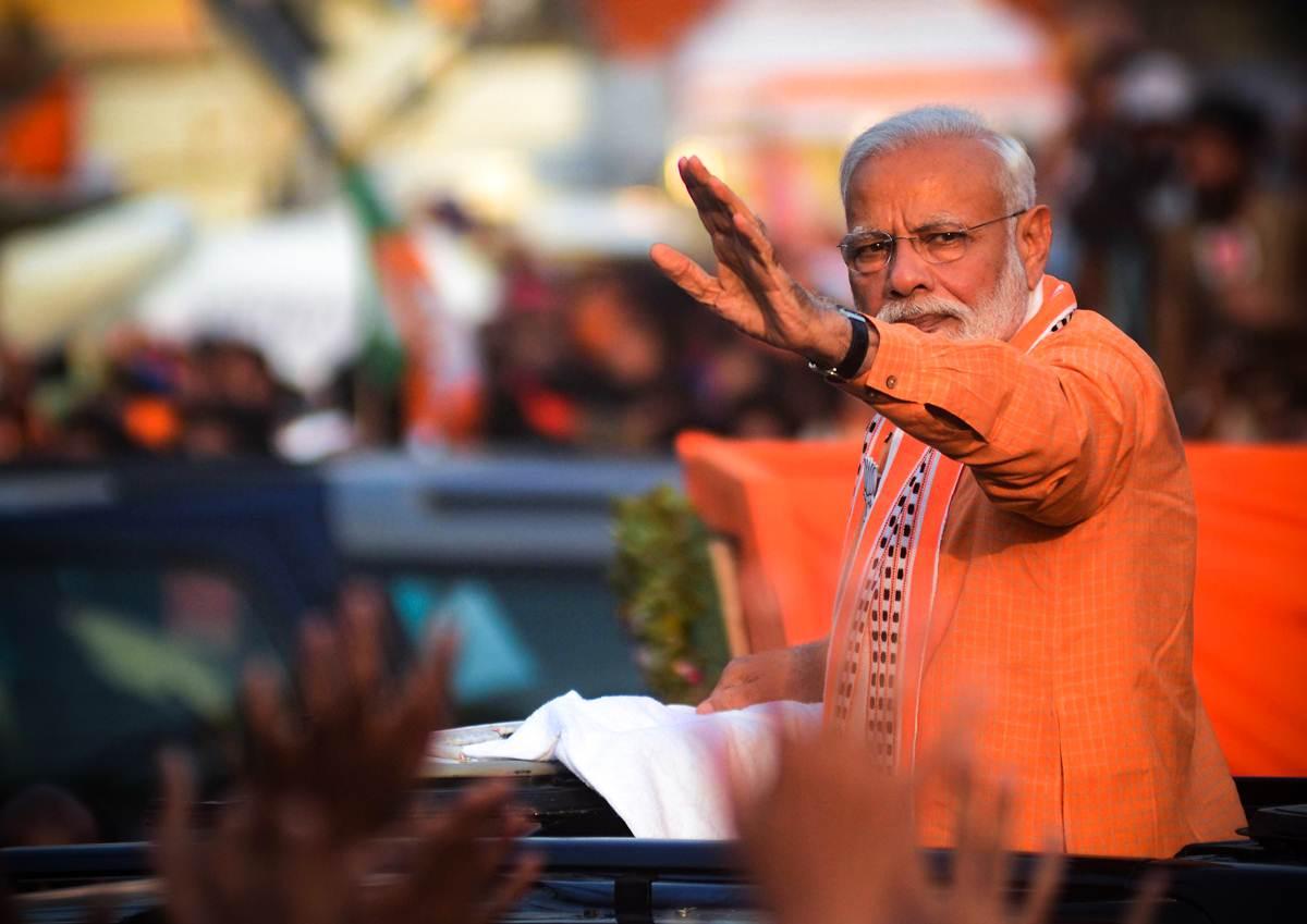 Modi's varanasi tour