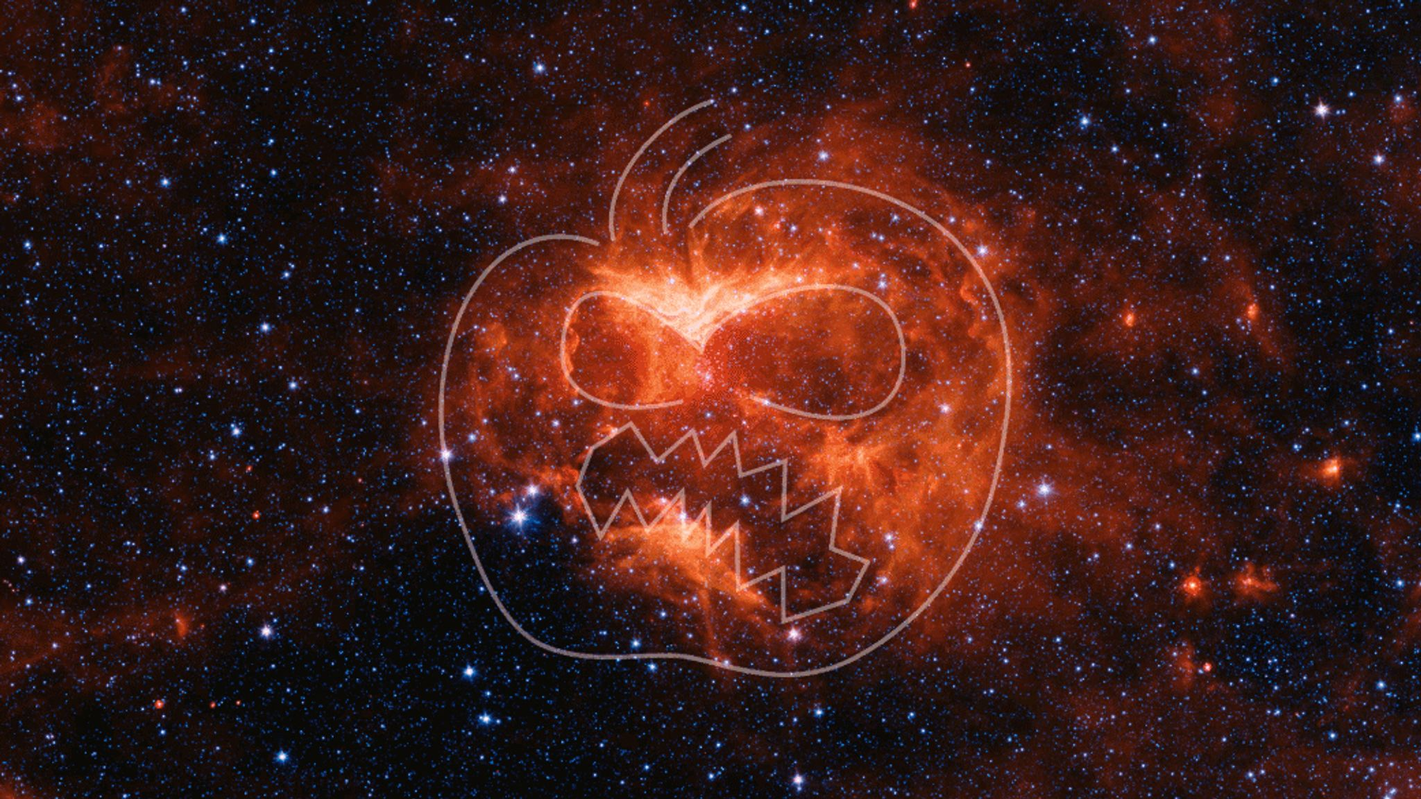 NASA discovers pumpkin in space