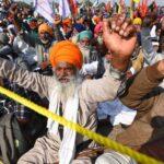 farmers protest against farm bill