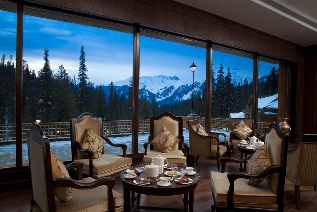 The Khyber Himalayan Resort and Spa, Kashmir- inside view