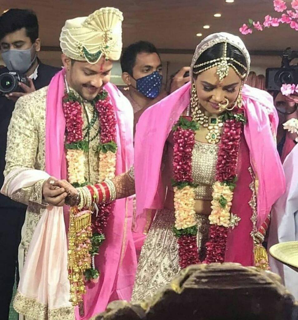 Aditya and shweta wedding