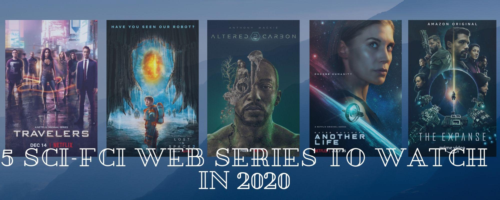 Best Sci-fi web shows