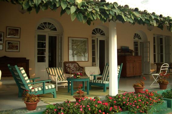 Glenburn Tea Estate and Boutique Hotel, Darjeeling- inside view