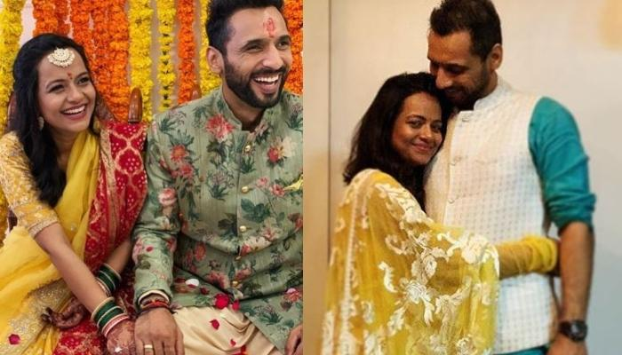 Punit and Nidhi's wedding rituals images