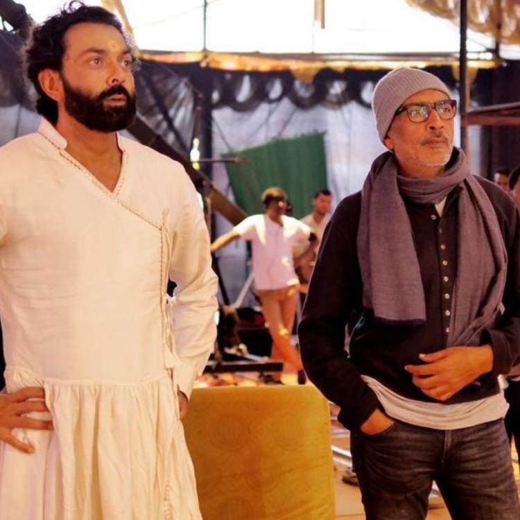 Prakash Jha and Bobby deol