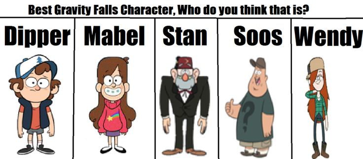 Gravity Falls Characters