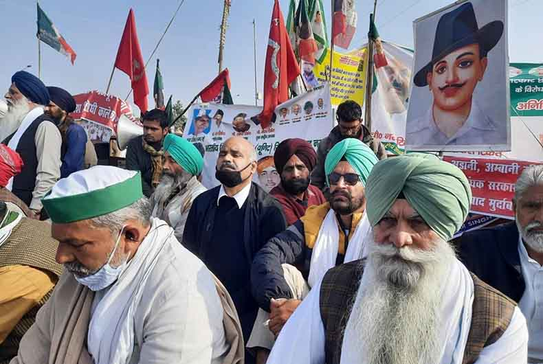 farmers protest - hunger strike