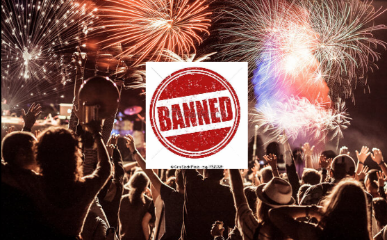 new year party ban