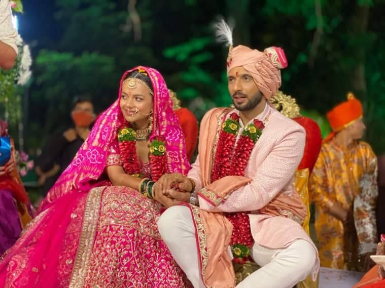 Punit and Nidhi wedding night