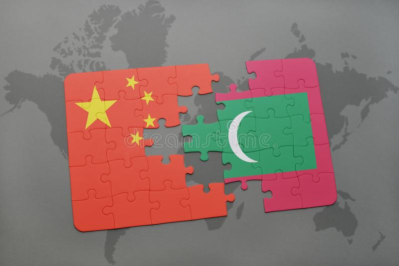 CHINA AND MALDIVES
