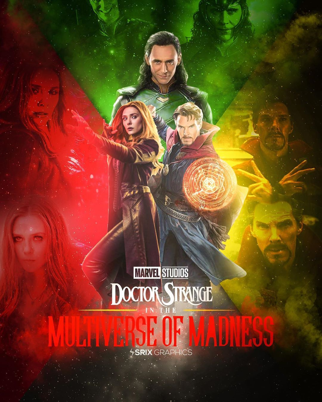 Dr. Strange in the multiverse of madness story