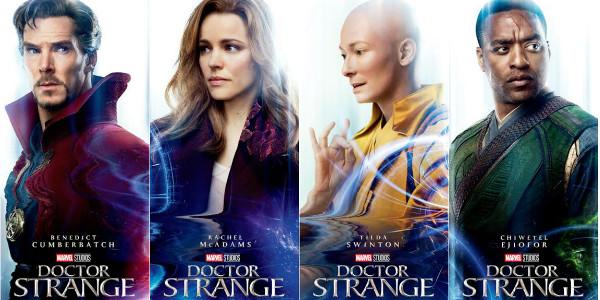 cast of dr. strange 2
