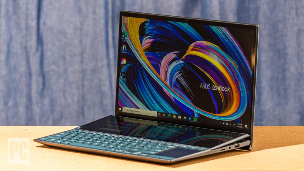 Asus ZenBook Duo 14 2021 Preview