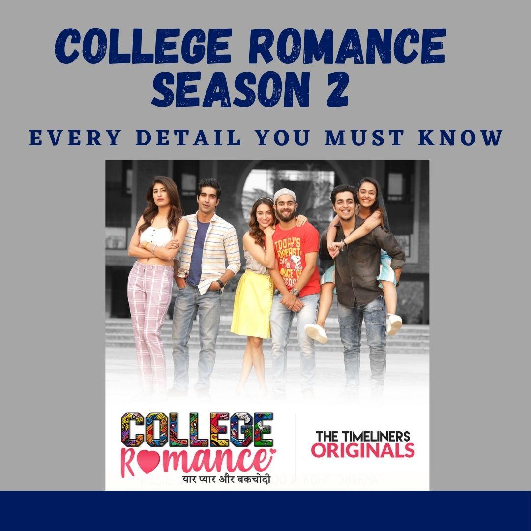 Second season of college romance