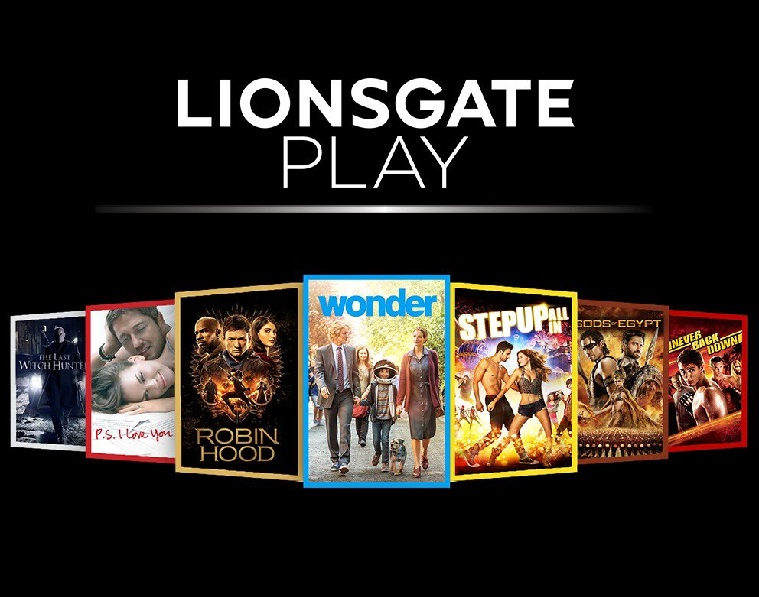 Lionsgate launch in India