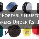 Bluetooth Speakers Under Rs.1000