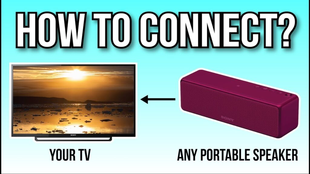 How To Connect TV To Bluetooth Speakers Check Here