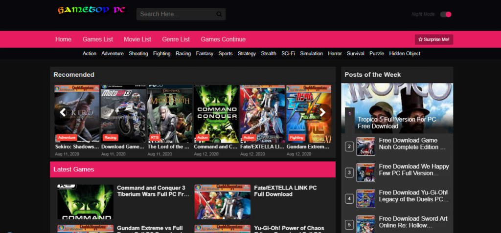 Websites To Download PC Games For Free And Legally