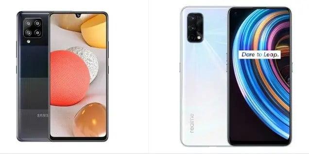 Realme X7 vs Samsung Galaxy A32