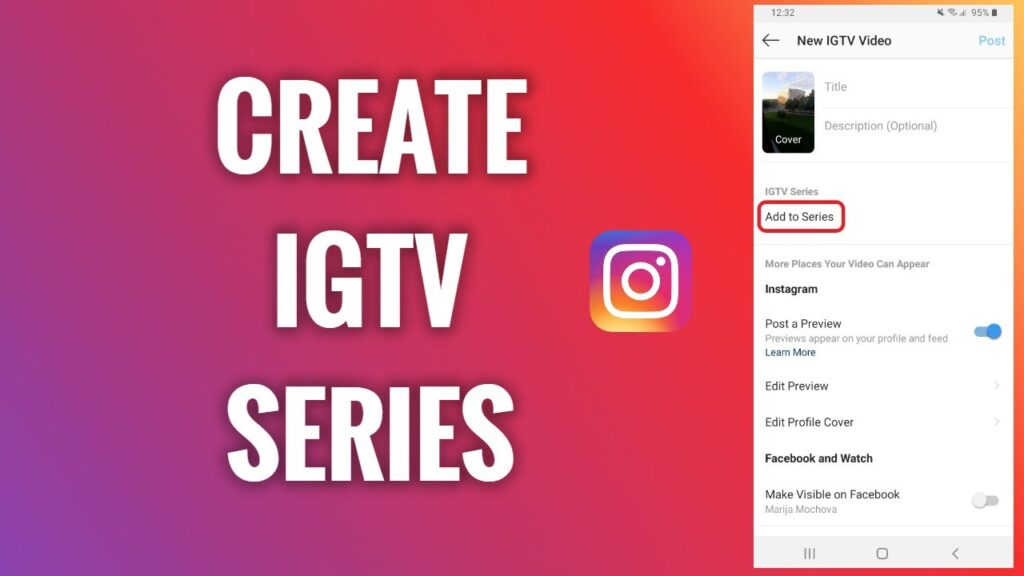 Make an IGTV Series