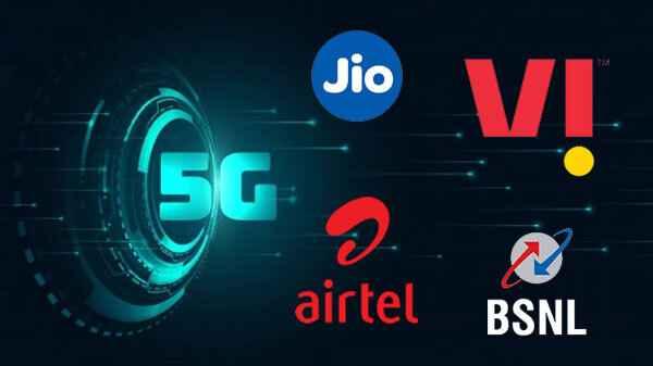 Jio, Airtel, BSNL, VI plans for 5G