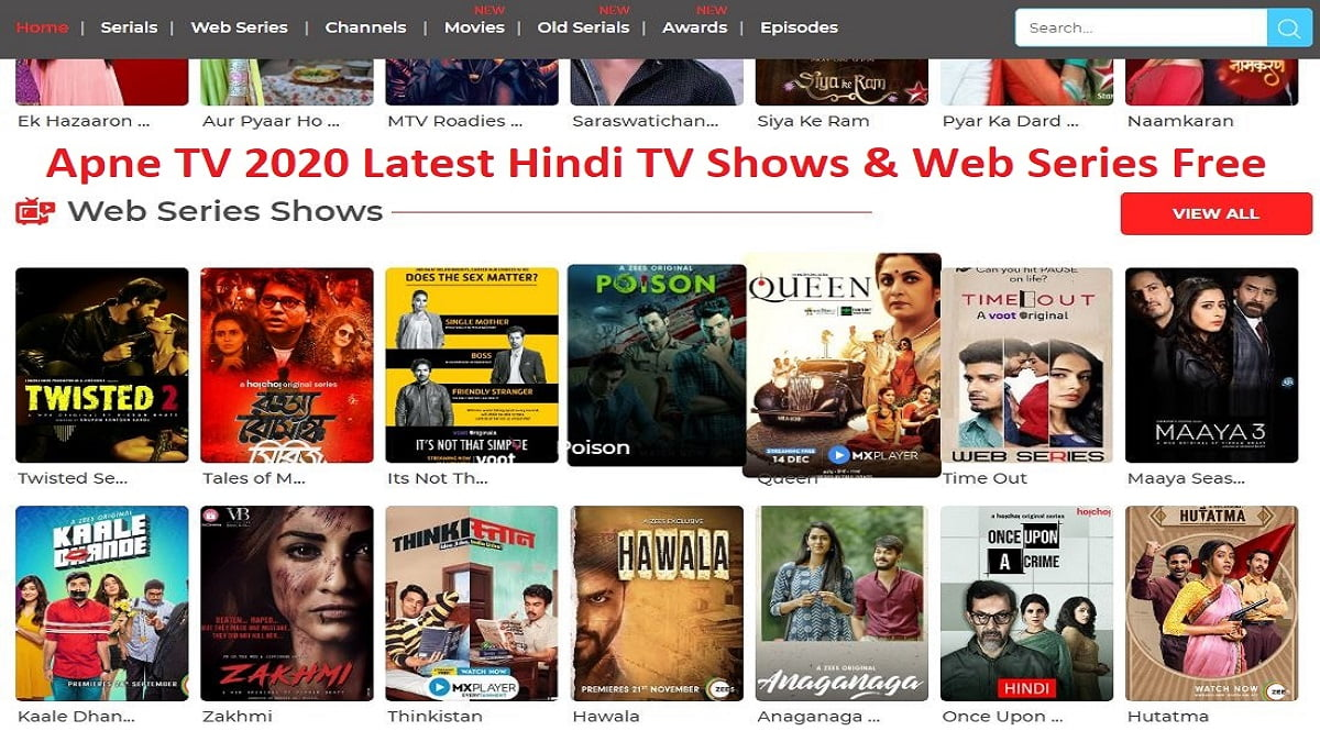 Apne TV App details: how to download? is it legal?