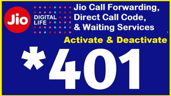 Call Forwarding Jio