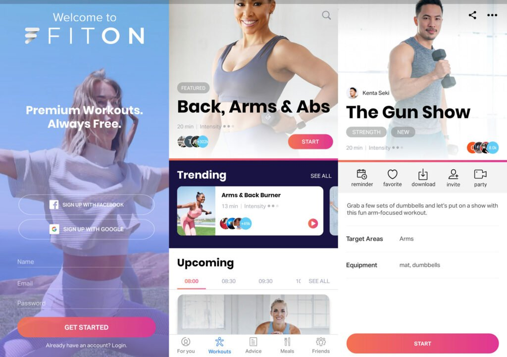 FitOn: Free Fitness Workout & Personalized Plans