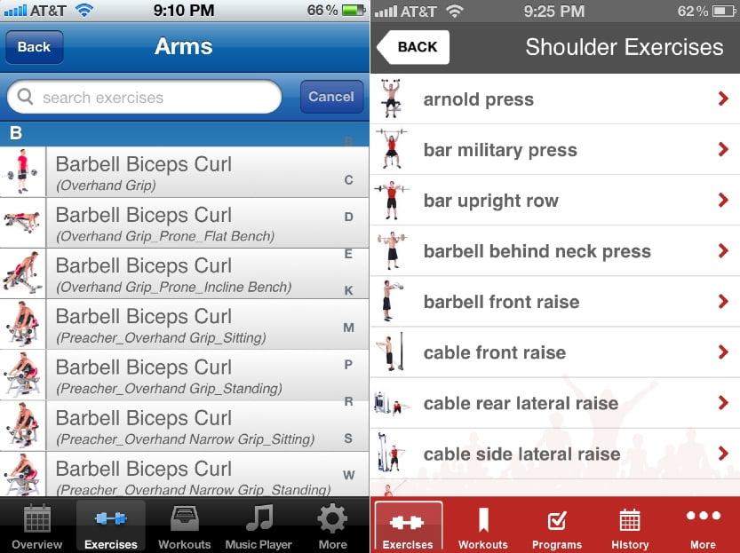 Fitness Buddy Gym workout, Weight lifting Tracker