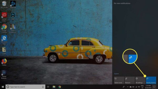 How to Use Nearby Sharing to Share Files in Windows 10