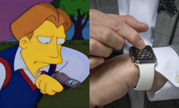 smart watch simpsons assumption