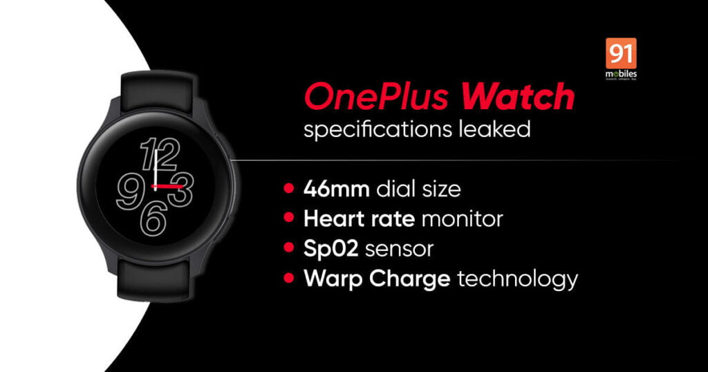 The OnePlus Watch