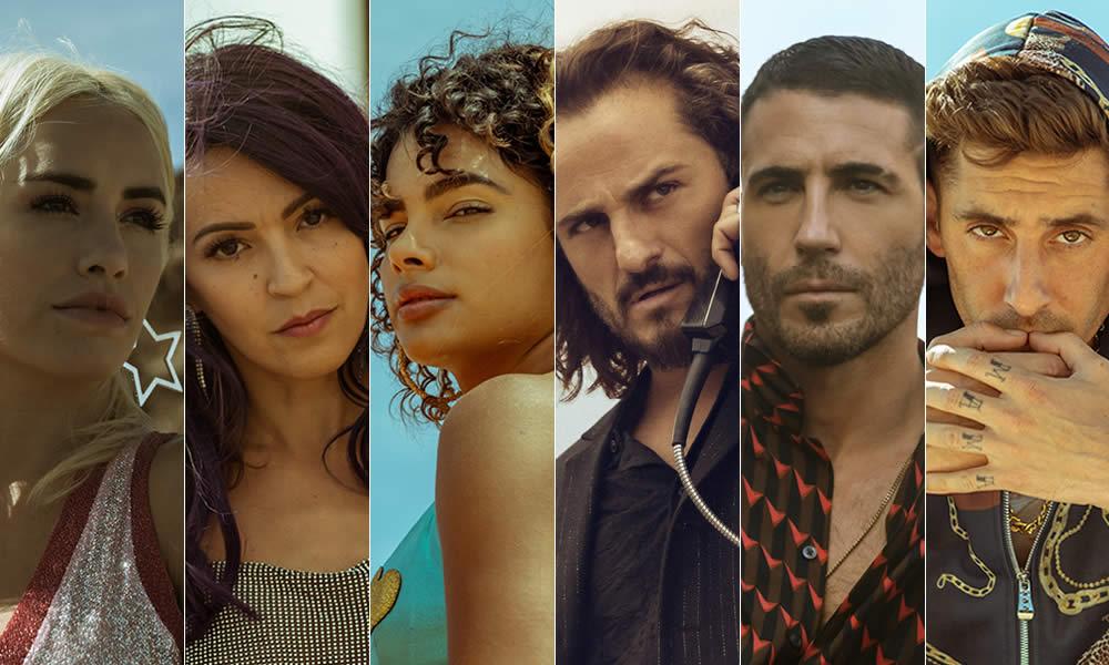 Sky rojo season 2 cast