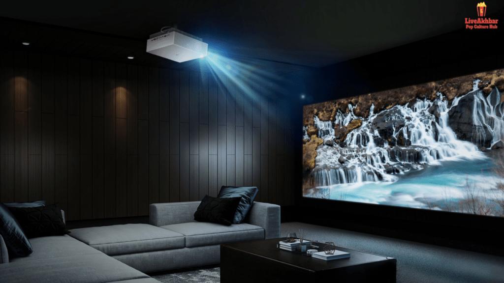Room Into A Movie Theatre